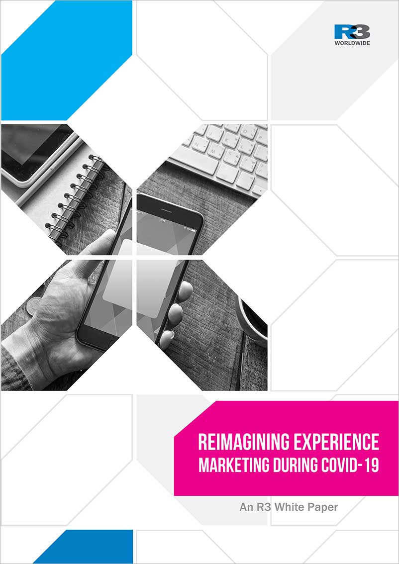 Experience Marketing During COVID-19. R3